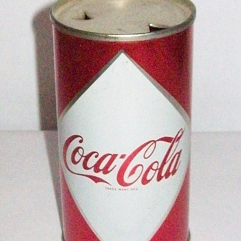 Coca ColaDiamond can 1959-60