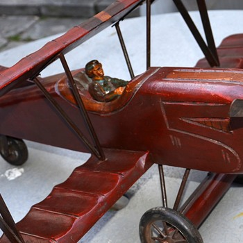 Beautifully-made Antique Model Airplane