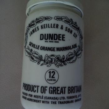 Vintage James Keiller & Son Ltd. Dundee Seville Orange Marmalade Jar