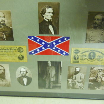 Collage of Confederate Heroes