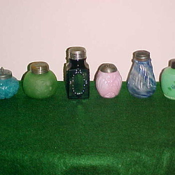 Odd Colored Shakers - Kitchen