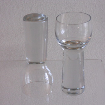 "help with i.d. mid-century scandinavian ""microphone"" glass ware   - Art Glass"
