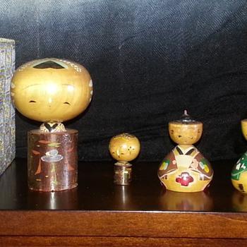 Kokeshi dolls? Pre-ww2 - Dolls