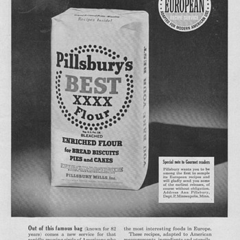 1952 Pillsbury Advertisement - Advertising