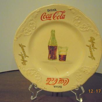 1931 Coca-Cola Sandwich Plate - Coca-Cola