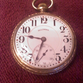 ILLINOIS  17 Jewel - Pocket Watches
