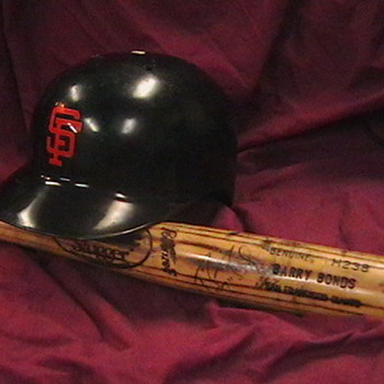1993 Barry Bonds SF Giants Batting Helmet