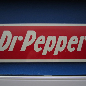 Dr Pepper sign