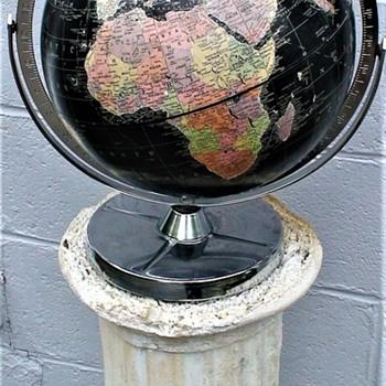 Vintage 1961 Encyclopedia Brittanica World Globe By Repogle Cold War Era