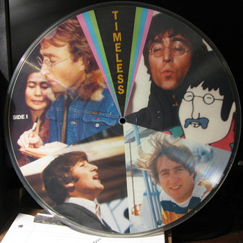Beatles Picture Disk - Records