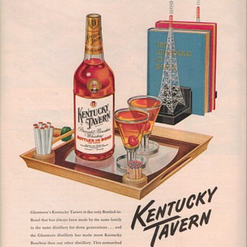 1950 Kentucky Tavern Whiskey Advertisements - Advertising