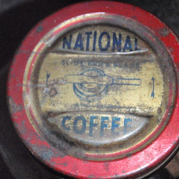 National Coffee Glass Jar