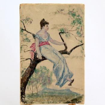 Oriental Look Painting on Silk? - Visual Art