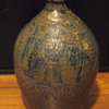 Ovoid Jug - Signed and decorated