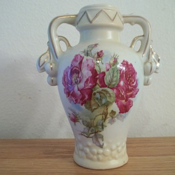 Late 1800 vase - Art Pottery