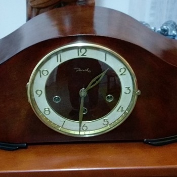 Jauch Mantle Clock restored - Clocks