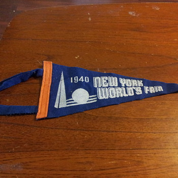 1940 New York World's Fair Pennant
