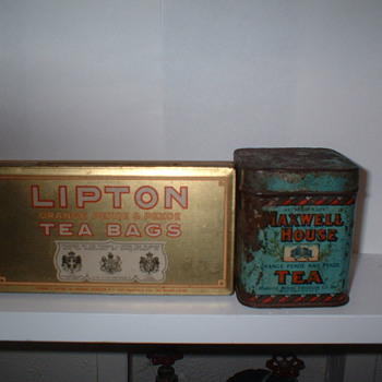 More kitchen tins - Advertising