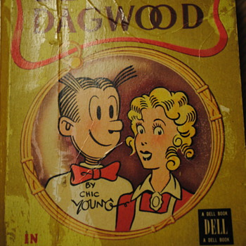 1947 Blondie-Dagwood in Footlight Folly Book