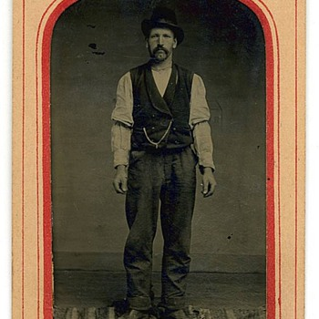 1880s Tintype - Saloon Bartender? - Photographs