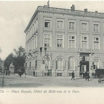 BRUXELLES - HÔTEL DE BELLE-VUE
