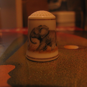 Elephant thimble - Animals