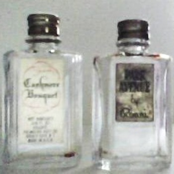 Vintage Miniature Perfume Bottles