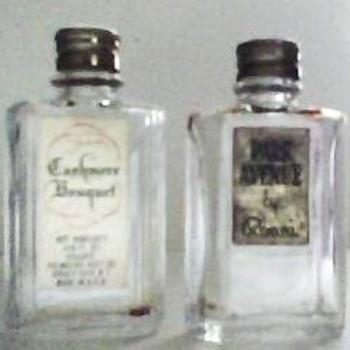 Vintage Miniature Perfume Bottles - Bottles