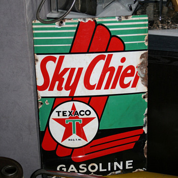 Texaco signs - Signs