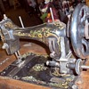Rare Garcia Coffin Top Treadle Sewing Machine
