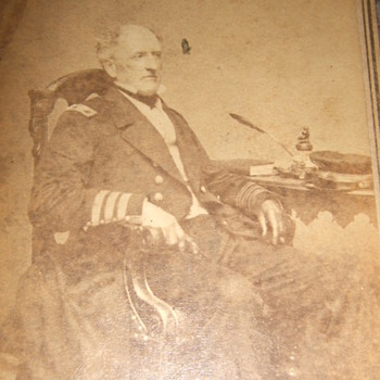 Admiral Buchanan (CSN) Civil War CDV by Brady