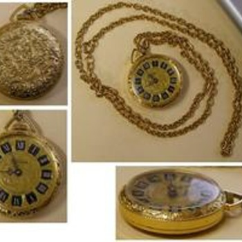 Lucerne Swiss Made Watch Necklace Pendant - Pocket Watches