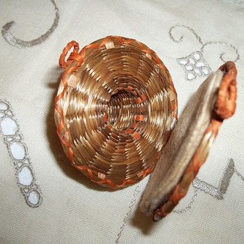 Unusual Needle Holder Made By Member of Wabanaki Tribes, Maine