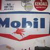 1959 Mobil Oil Porcelain Sign