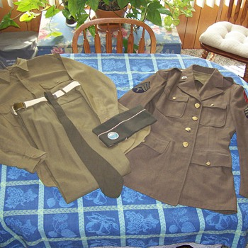 WWII First Special Service Force Dress Uniform.