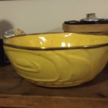 Yellow Bowl. Very old