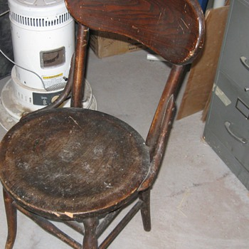 Older chair and not sure what the other one is.