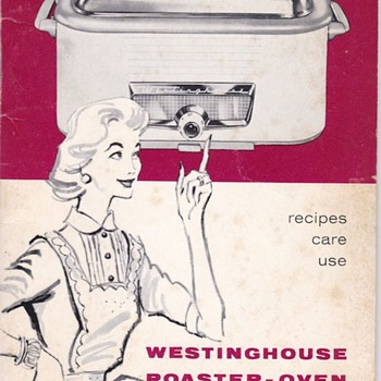 Westinghouse Roaster Instruction Manual 1950s - Kitchen