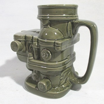 Ford Carburetor Coffee Mug - Classic Cars