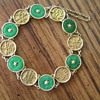 Antique Jade and Gold bracelet
