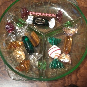 Murano Glass Candy Pieces!