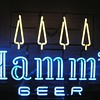 Hamms Beer neon sign