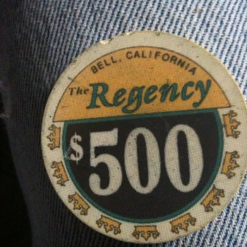 The Regency, Bell Ca $500 Chip