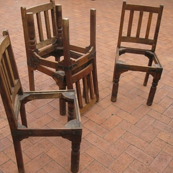 4 dinning chairs - Furniture