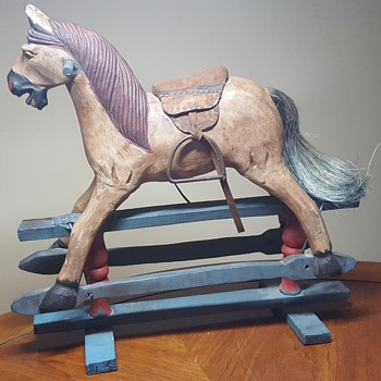 Wooden Toy Rocking Horse - Toys