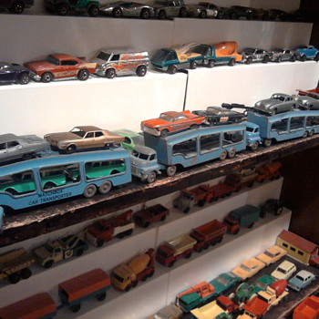 Matchbox Auto Carriers from 1957 were rare on toy shelves as a kid...
