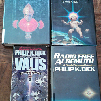 My Philip K. Dick VALIS collection - Books