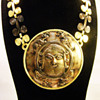 Vintage Diane Love for Trifari Sassanian Plaque Necklace