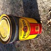 Huge Early Pennzoil Drum W/Lid