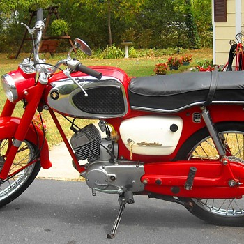 My 1965 Suzuki K10 Motorcycle - Motorcycles